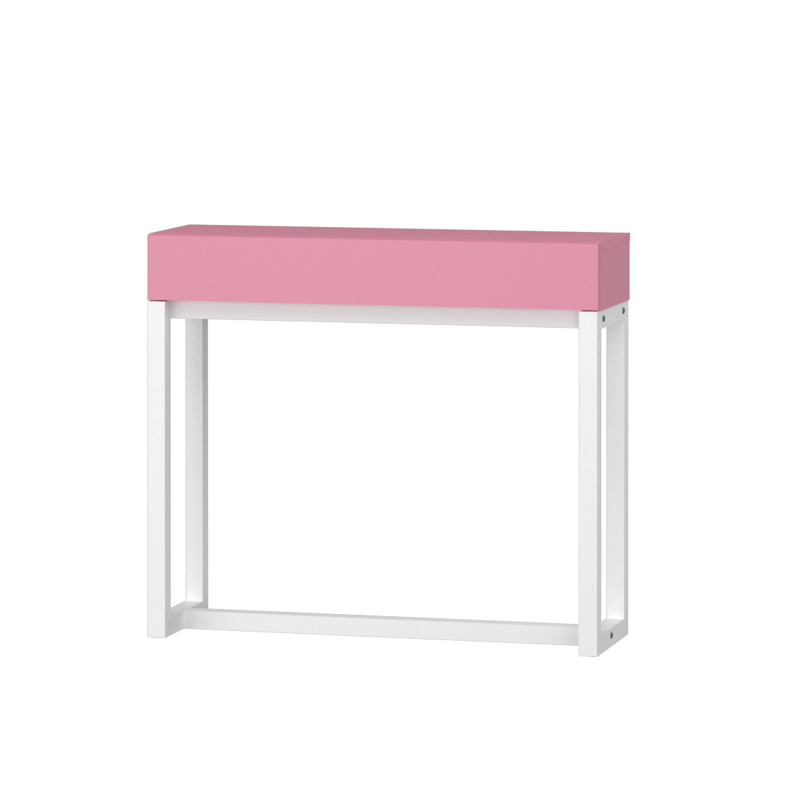 Bianco / Rose pink