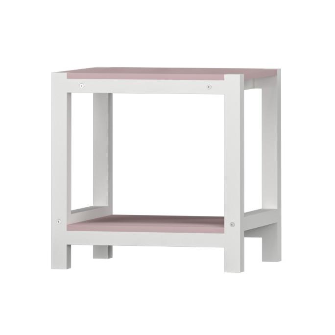 Bianco / rosa chiaro