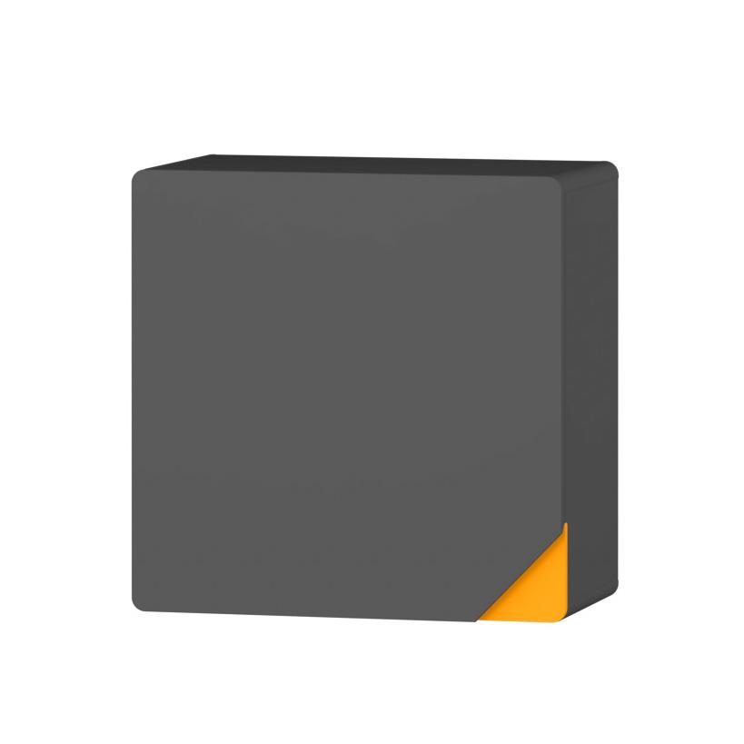 Grafite / Grafite / Arancione
