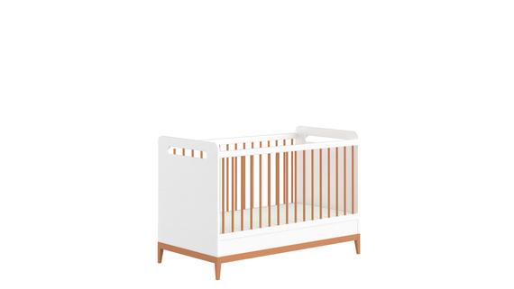 Lettino bianco per neonati Beta (1)