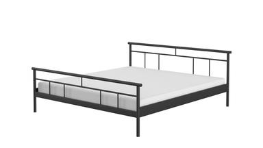 Letto in metallo per camera da letto Arden