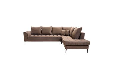 Elegante divano angolare in stile moderno per il soggiorno Amalia