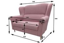 divano in stile loft